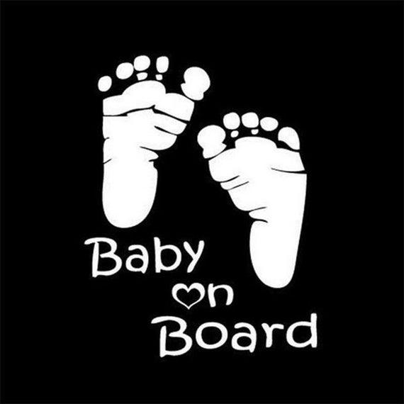 Baby On Board Decal Sticker for your truck suv minivan van window bumper