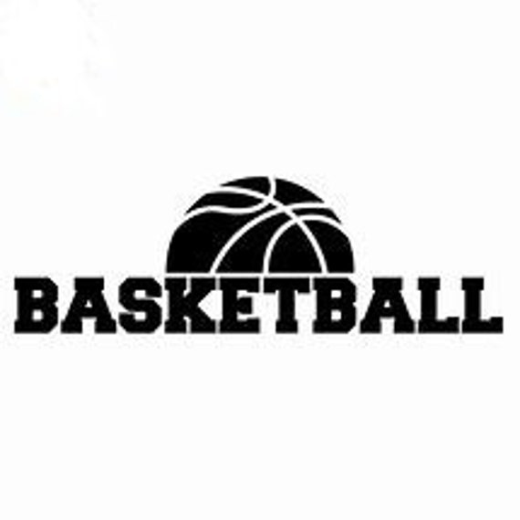 Basketball Decal Sticker for your car truck suv phone tablet window bumper