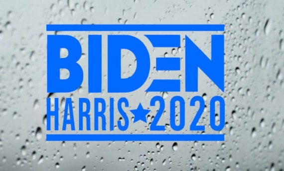 Biden Harris 2020 Decal Sticker - For Your Car Truck Phone