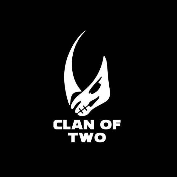 Clan Of Two Decal for your car truck phone wall
