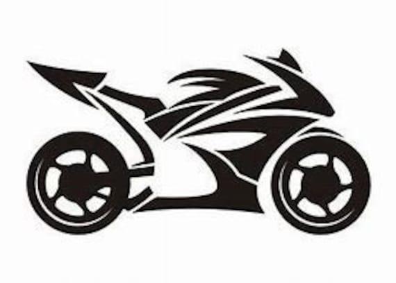 Sport Bike Decal Sticker for your car truck suv phone tablet window bumper crotch rocket