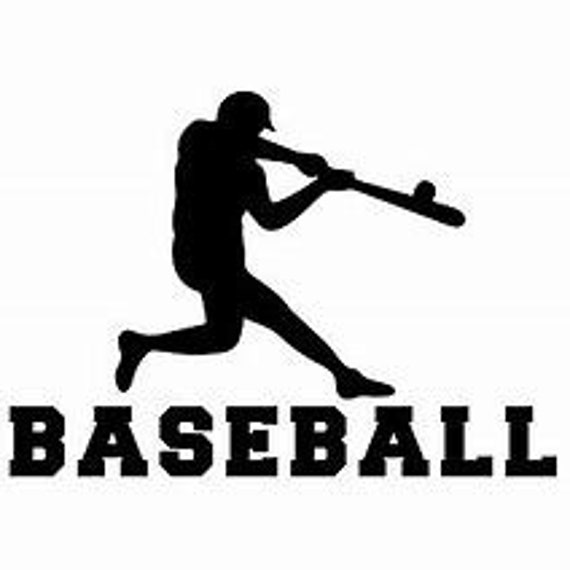 Baseball Decal Sticker for your car truck suv phone tablet window bumper