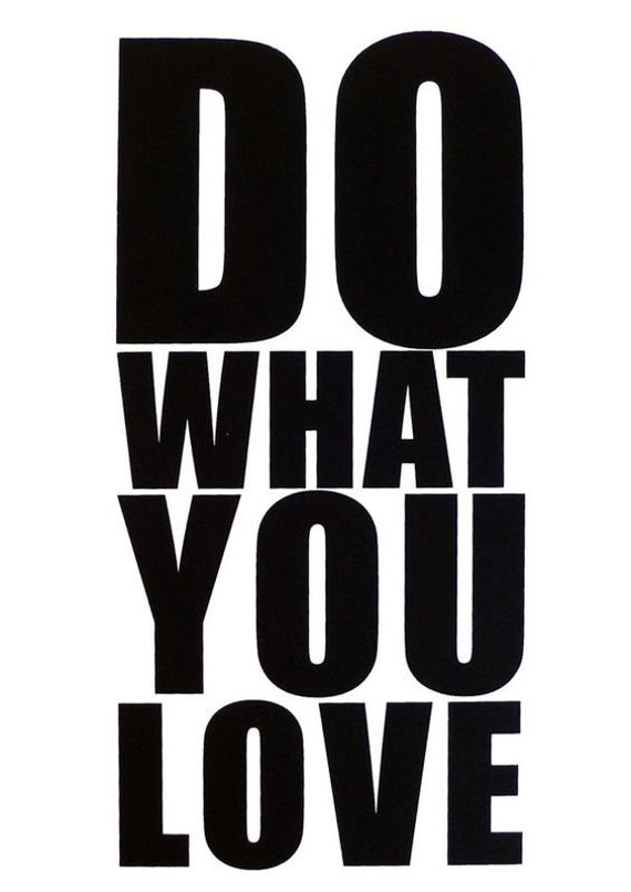 Do What You Love Decal Sticker for your car truck vehicle window