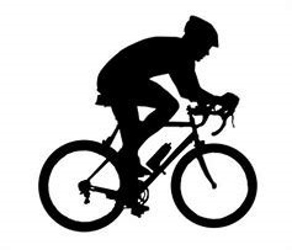 Cyclist Mom Decal Sticker for your car truck suv phone tablet window bumper bicycle