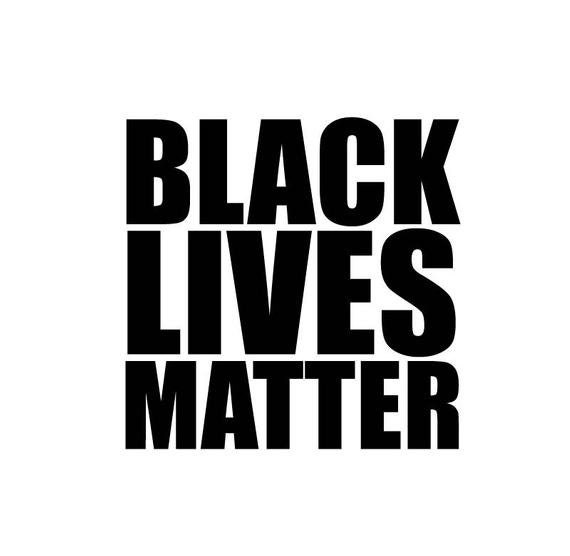 Black Lives Anti Racism Matter Decal - Sticker - For Your Car or Truck