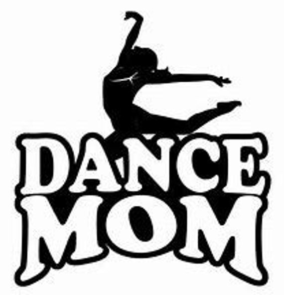Dance Mom Decal Sticker for your car truck suv phone tablet window bumper