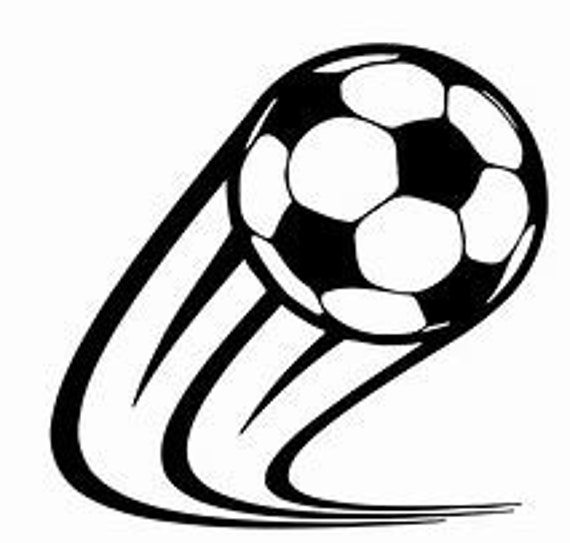 Soccerball Soccer Ball Futbol Decal Sticker for your car truck suv phone tablet window bumper