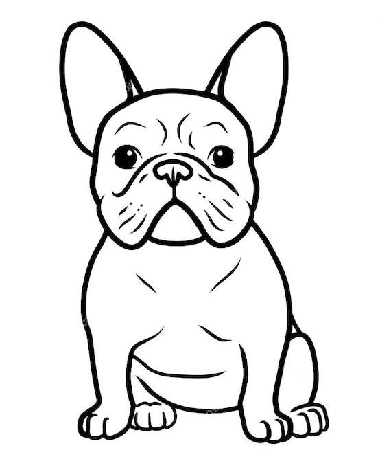 French Bulldog Decal Sticker for your car truck suv van wall phone window bull dog