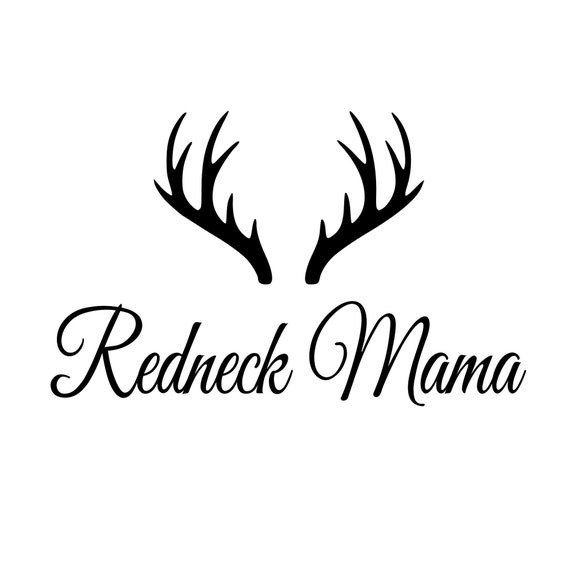 Redneck Mama Decal Sticker for your car truck suv 4x4 offroad vehicle wall phone window