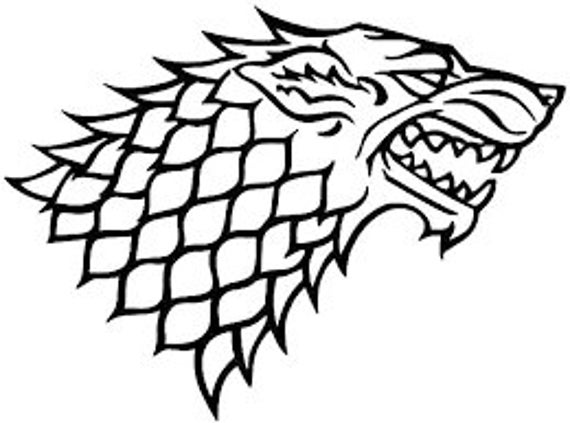 Sigil House Stark Decal Sticker for your car truck suv van wall phone window