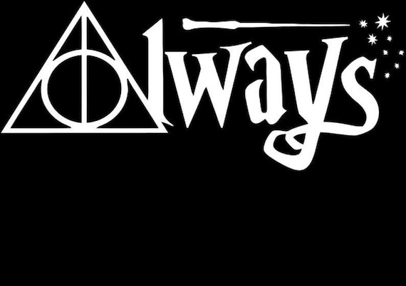 Always Decal - Sticker For Your Car Truck phone or Window