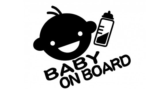 Baby On Board Baby On Board Decal Sticker for your car truck suv minivan van window bumper