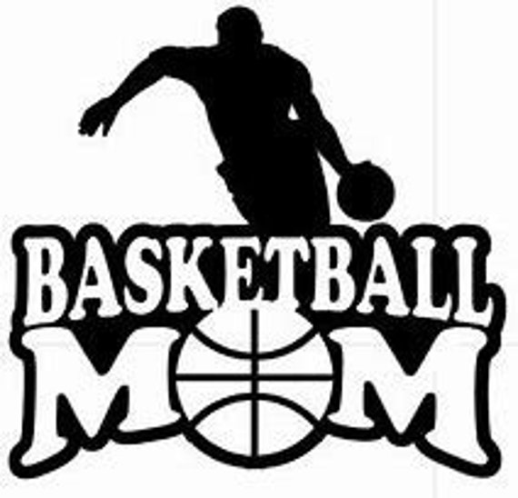 Basketball Mom Decal Sticker for your car truck suv phone tablet window bumper