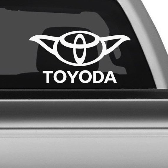 Toyoda Decal - Sticker For Your Car Truck phone or Window