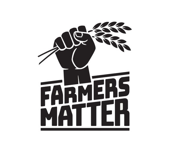 Farmers Matter Decal - Sticker For Your Car Truck phone or Window