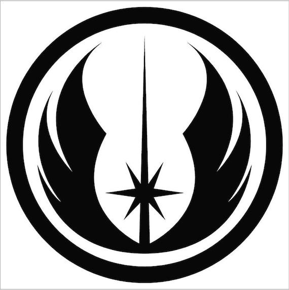 Jedi Order vinyl decal sticker star car truck suv van bumper mirror wars window  helmet  laptop  Yeti phone