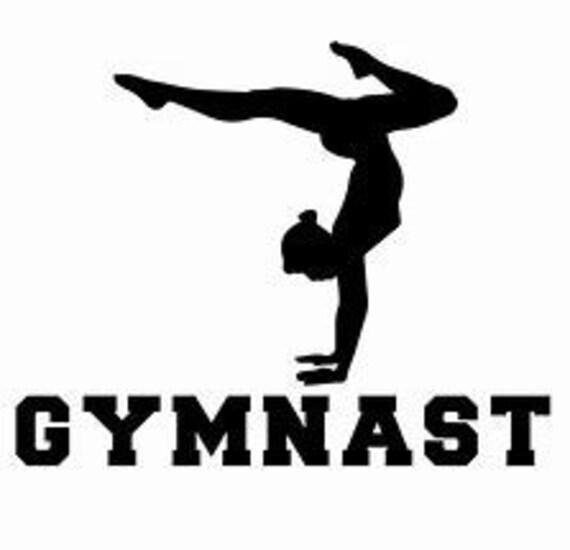 Gymnast Gymnastics Mom Decal Sticker for your car truck suv phone tablet window bumper