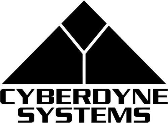 Cyberdyne Systems Decal Sticker for your home fence gate garage car truck suv van rock window bumper terminator skynet