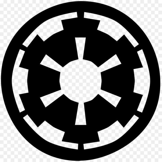 Galactic Empire Decal Sticker for your star car truck phone wall wars