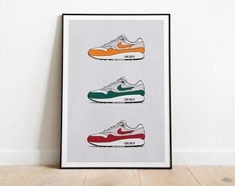 Nike air max art | Etsy