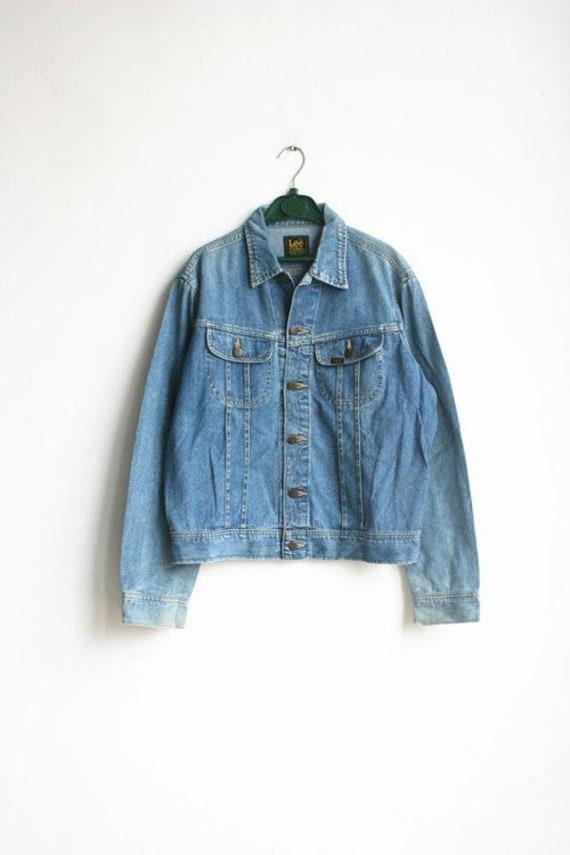 Vintage Lee Riders Denim Tracker Jacket