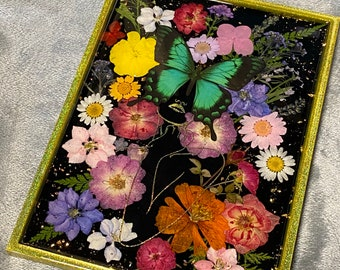 Floral Beauty Tray