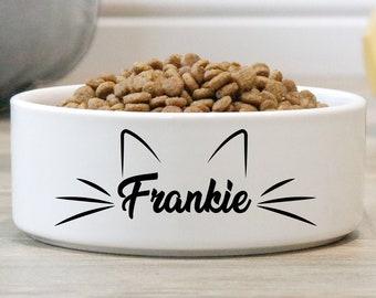 Pet Bowl Dog Personalized Cat