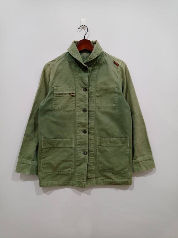 Well worn Vintage 90s Cantwo japan workwear canvas
