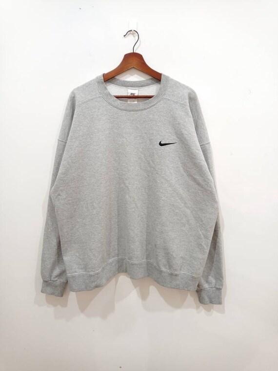 Vintage 90s Nike minimalist hoodie sweatshirt size