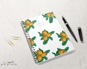 Custom Notebook Journal Lemon Cover