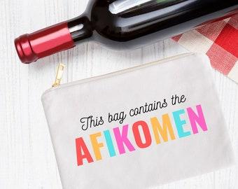 This Bag Contains the Afikomen Passover Decor, Afikomen Bag, Pesach, Passover Gift, Afikomen Gift