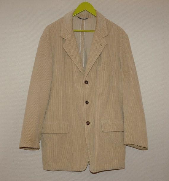 C.P. Company Vintage Men's Velvet Blazer Jacket Si