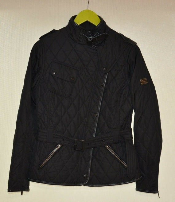 Barbour For Land Rover Black Quilted Lordenshaw Wo