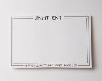 BTS Notepad / Memopad / Jinhit Ent. / Sticky Notes / To-Do List / Daily Planner / kpop notepad / BTS Merch [stationary]
