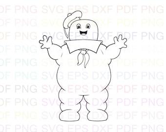 malvorlage marshmallow man | Coloring and Malvorlagan | 270x340