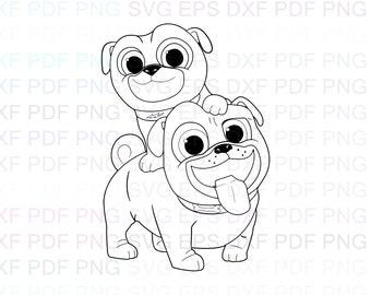 Puppy Dog Pals Rolly Etsy