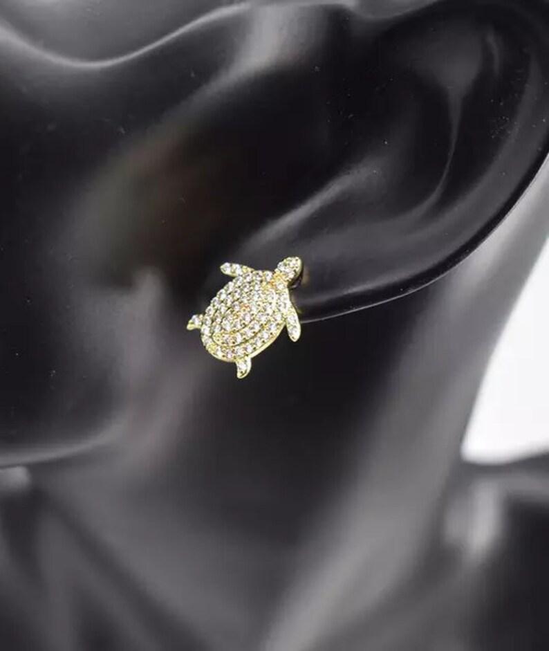 HUGS /& KISSES animal earrings with 18k gold fillers