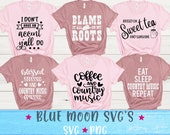 Country Bundle SVG cut file, Country SVG, Southern SVG, Coffee and Country Music obsessed svg, Southern accent svg, Country svg Bundle