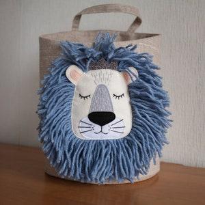 jungle animal basket tropical baby shower gift lion and monkey baskets for safari nursery decor and storage Elephant