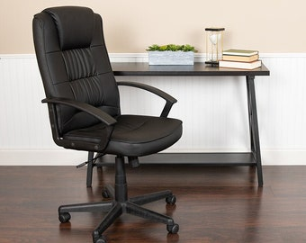 No Arms Office Chair Etsy