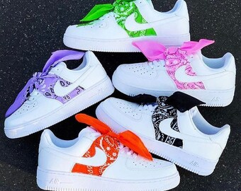 air force 1 bandana scarpe