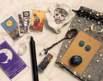 Mystery Bundle Witch Kits - Witch Altar Accessories - Spooky Box Bundle - Goodie Bag