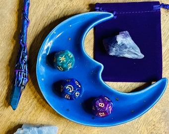Celestial Astro Dice Set - Divination Tools - Astrology Dice Set- Tarot Reading - Pagan Wicca Gifts