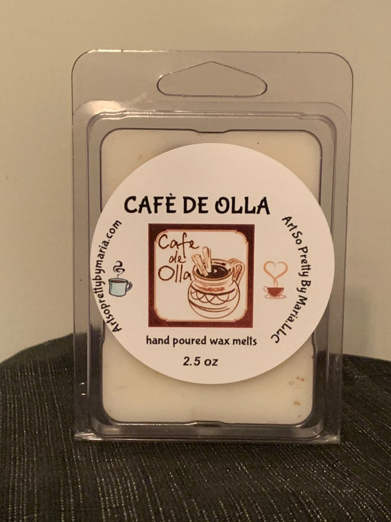 CAFÈ DE OLLA scented wax melts/coffee scented wax melts/Cafe De Olla scented wax tarts/Mexican wax tarts/highly scented wax melts/wax tarts