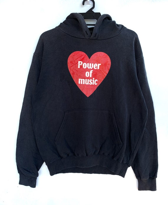 PICK!!! Vintage Power Of Love Sun Faded Hoodie