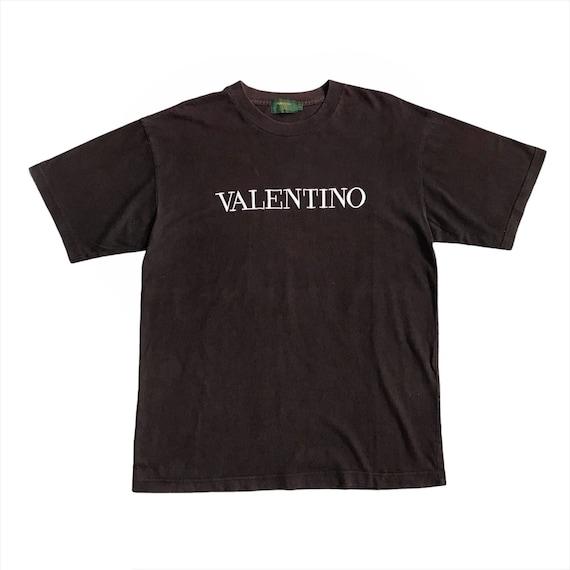 Pick ! Vintage Valentino Crewneck Big Logo Spello… - image 1
