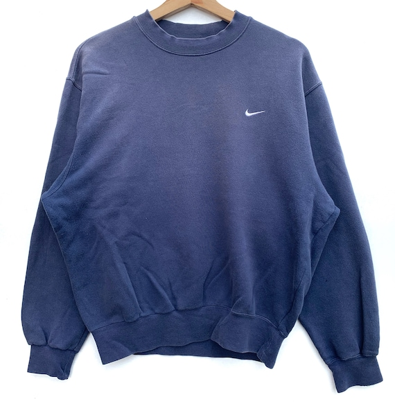 PICK!! Vintage Nike Small Logo Embroided Sun Faded