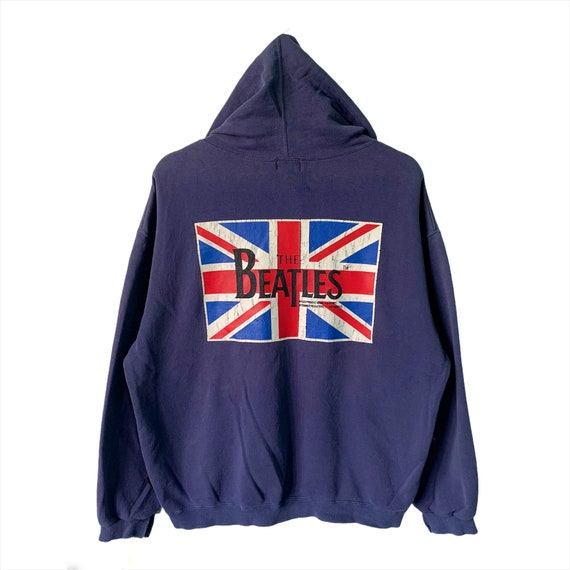 PICK!! Vintage The Beatles Big Logo Hoodie Union J