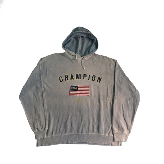PICK!! Vintage Champion USA Olympic Hoodie Champio