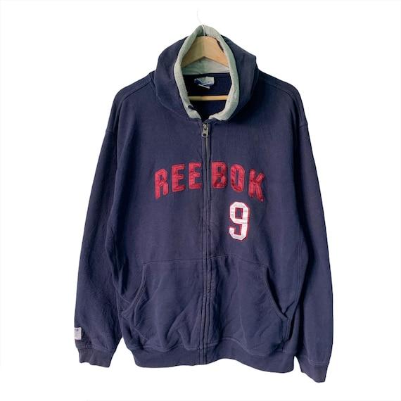 PICK!! Vintage Reebok Hoodie Reebok Zipper Sweater